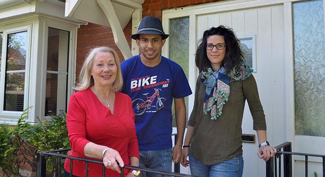 Exeter adulti alloggio in famigliaExeter adulti alloggio in famiglia