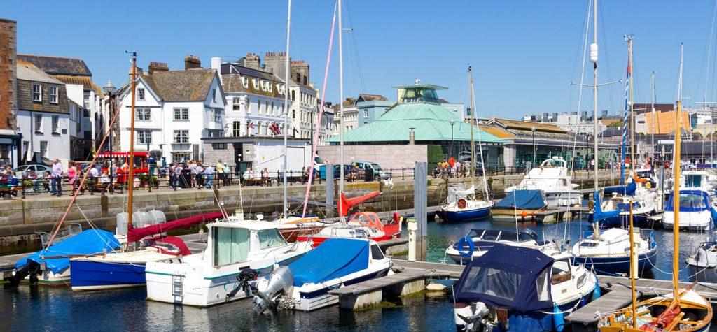 Plymouth Barbican marina
