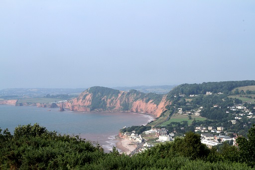 Sidmouth panorama