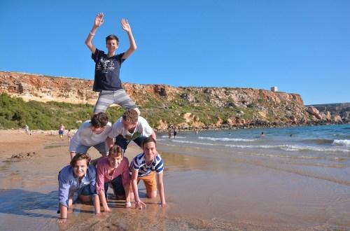 Vacanza studio a St Paul's Bay Malta in famiglia o college