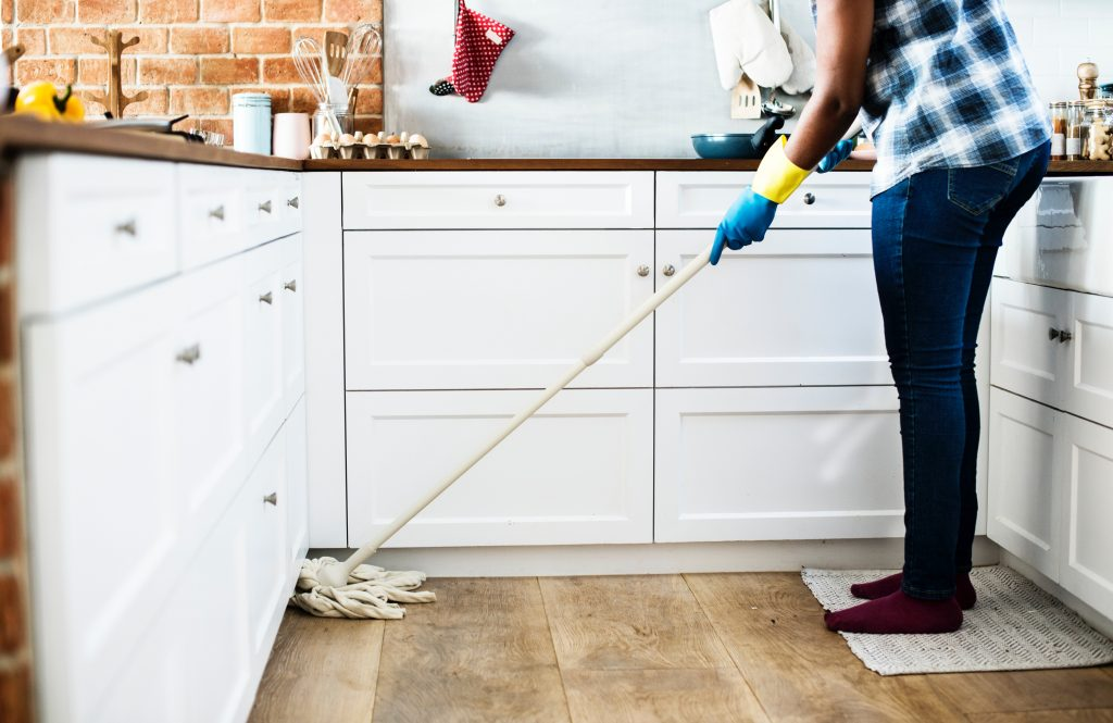 AU-pair cleaning