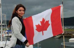 High School in Canada, in famiglia