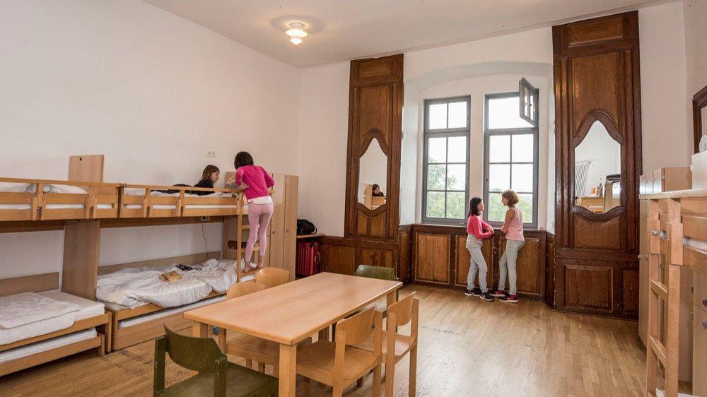 alloggio nel castello